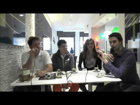 UN CAFFE' FUORICAMPO 07-05-14: Cuneo Femm. in Serie A! Ospiti Eva Callipo ed Arianna Pittavino