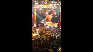 raw after mania aj styles moment lillian thanks the fans 4 4 16