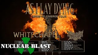AS I LAY DYING - U.S. 2020 Tour with Whitechapel and Shadow of Intent (OFFICIAL TOUR TRAILER)
