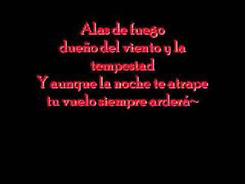 Tierra Santa - Alas de fuego (Lyrics)