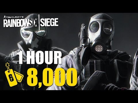 HOW TO GET 8K RENOWN IN 1 HOUR! (Xbox One, PS4, PC) - Rainbow Six Siege