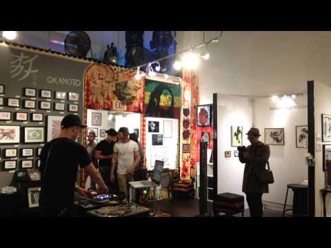 """FIXIE 20 Min """"LA Artwalk: HIVE GALLERY"""" DJ Set"""