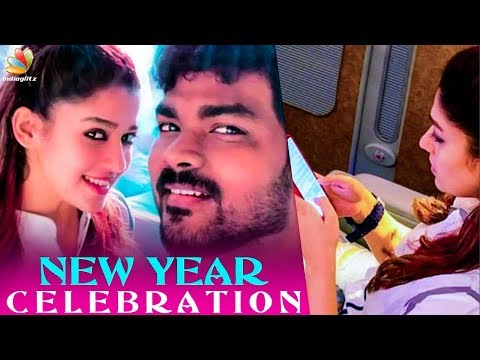 Nayanthara & Vignesh Shivan's Flies to Vegas | New Year Celebration