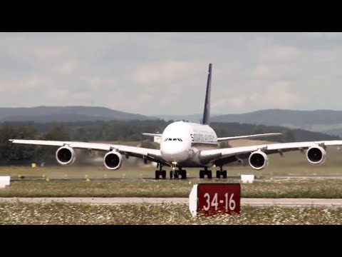 Zurich Airport - Summer Time | Airport Movie