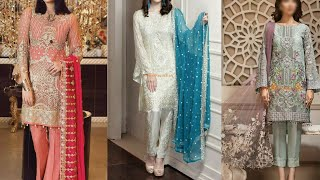 New designs of party wear with…