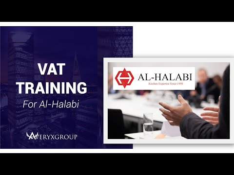 VAT Impact Assessment Training for Al Halabi Ref. & Kitchen Equipment by Averyx Group