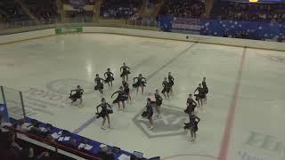 Чемпионат России по синхронному катанию MC Короткая программа 3 Парадиз SPB