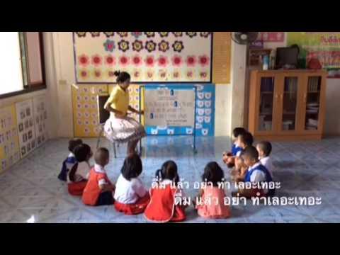 การจัดกิจกรรมคำคล้องจองสำหรับเด็กปฐมวัย