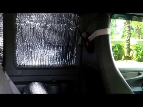 Van Window Reflectix and more Solar Power Talk