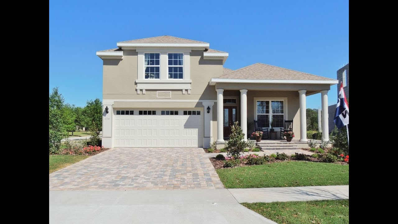 LifeStyle Homes Grand Cayman Model at Harmony - YouTube