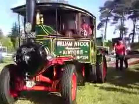 green steam vehicle - william nicol contractor - kintore