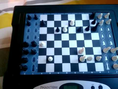 CHESS Aaron VS Excalibur Phantom Force Chess Computer Autonomous Self Moving 24.06.15