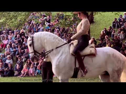 """VIDEO - """"Flamenco mit Pferd"""" / Rahel Schröder und Katalin Fischer @ 2019"""