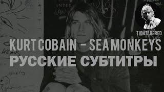 KURT COBAIN - SEA MOKEYS ПЕРЕВОД (Русские субтитры)