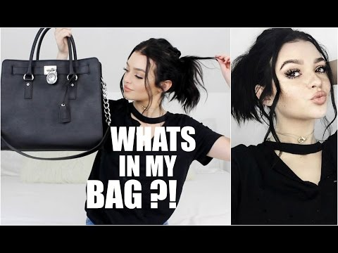 Thumbnail: WHATS IN MY BAG!? | Kelsey Simone