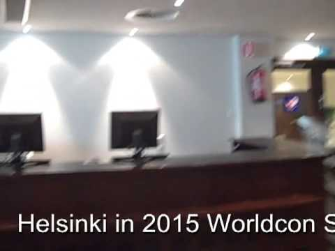 Helsinki in 2015 Worldcon Site Visit - The Press Office