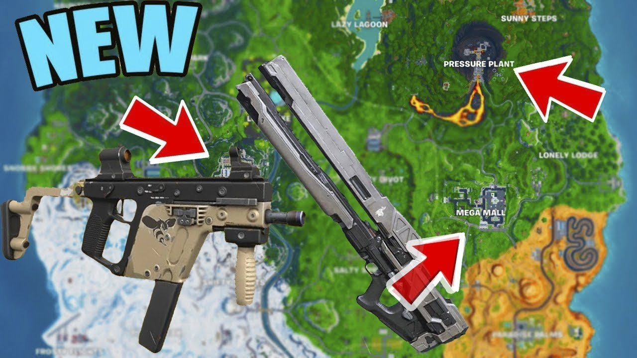 Fortnite Weapons All Season 9 All Changes In Fortnite Season 9 New Map And Weapons Youtube