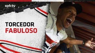 LUIS FABIANO REAGE A SÃO PAULO X LDU   SPFCTV