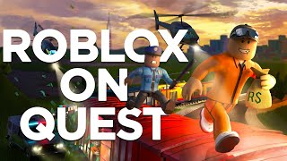 How to Play ROBLOX in VR on Oculus Quest 2!
