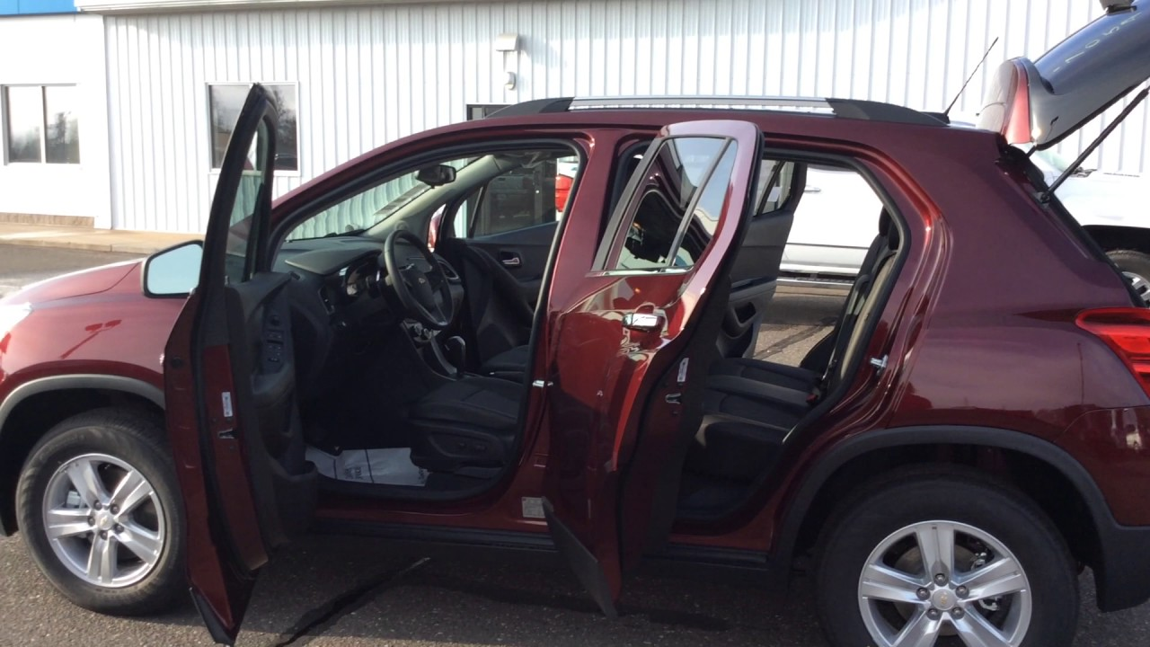 2017 Chevrolet Trax Lt Awd Red