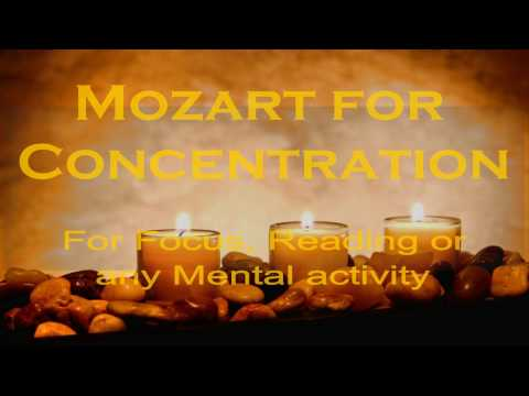 Mozart for Concentration | Reading | Focus | Mental Activity | Isochronic Tones Binaural Beats