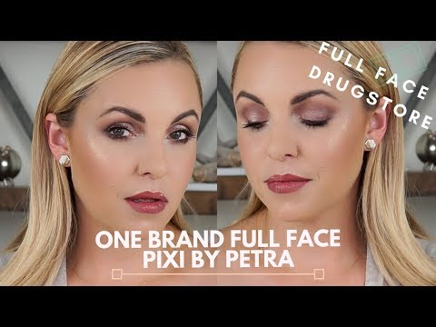 One Brand FULL Face DRUGSTORE fall look || Pixi by Petra - Elle Leary Artistry