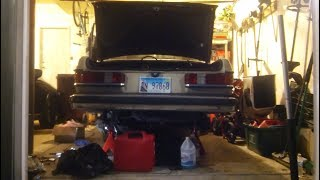 PROJECT MERCEDES W123 UPDATE: STARTED WORKING ON REAR END; RIPPED CV AXLE BOOTS LIKE ALWAYS thumbnail