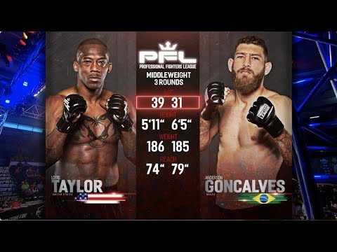 PFL Full Fight Friday: Louis Taylor vs Anderson Goncalves from PFL 3