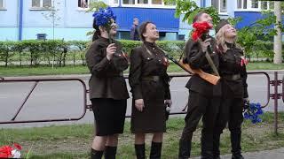 Оригинальное поздравление ветерана ВОВ с Днем Победы в Солигорске
