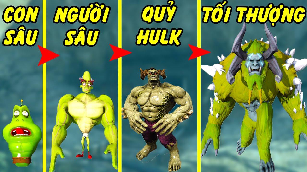 GTA 5 - Cuối tuần tôi là Hulk từ con sâu đến Quỷ khổng lồ Xanh tối thượng | GHTG