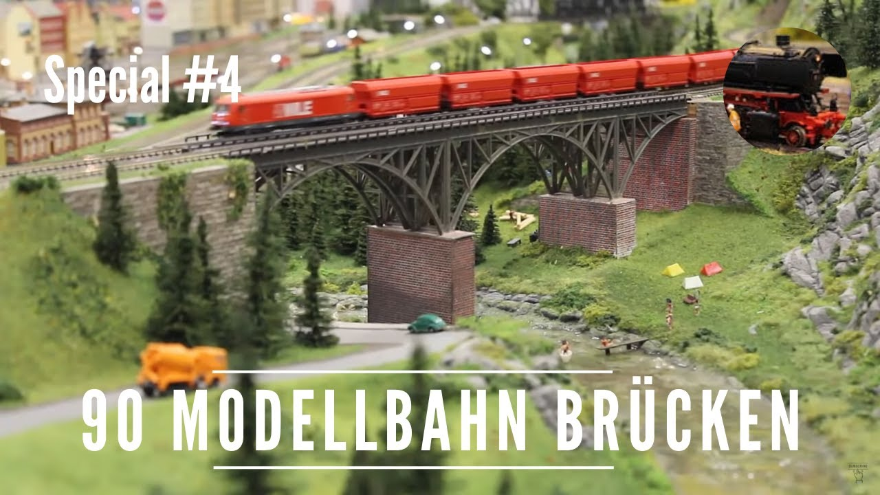 90 Modellbahn Brucken Model Railway Bridges Youtube