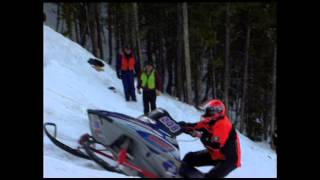 World Championship Snowmobile Hill Climb Youtube