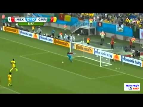 Mexico 1-0 Cameroon Goals & Highlights Fifa World Cup 2014