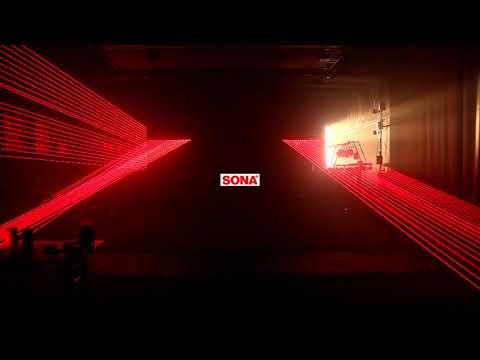 10 Lens 2 in 1 DMX LED Laser Beam Array Bar Stage Lighting