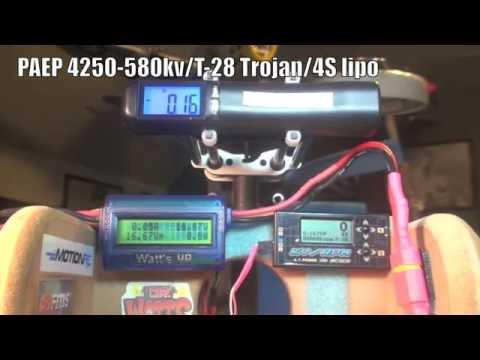 PAEP 4250 580kv T 28 Trojan 3 bld