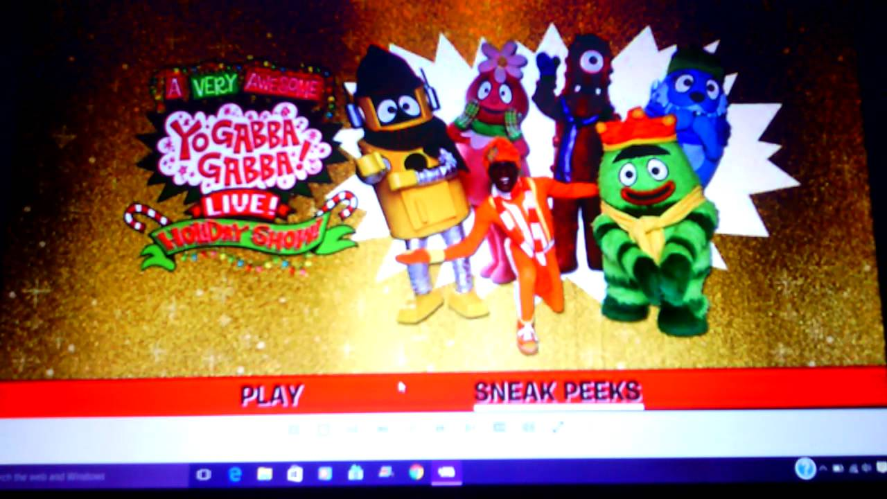 A VERY AWESOME YO GABBA GABBA! LIVE! HOLIDAY SHOW! - YouTube