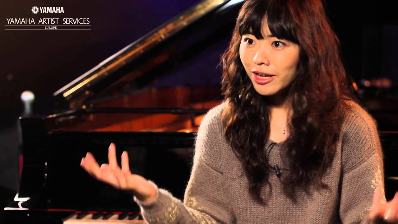 Yamaha Pianos in conversation with Hiromi