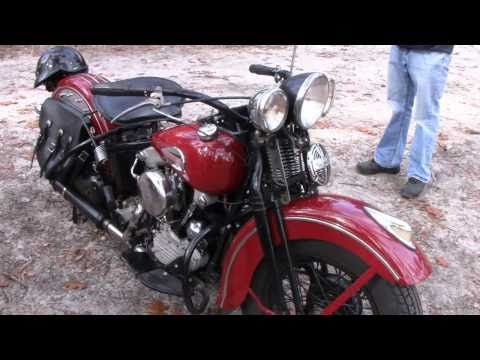 1942 & 1954 HARLEY COLD KICK START