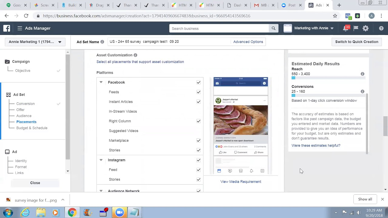 How To Set Up a Survey CPA Campaign Using FB Ads?