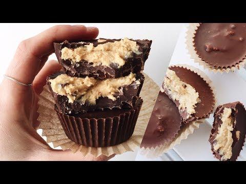 2-ingredient-vegan-peanut-butter-cups