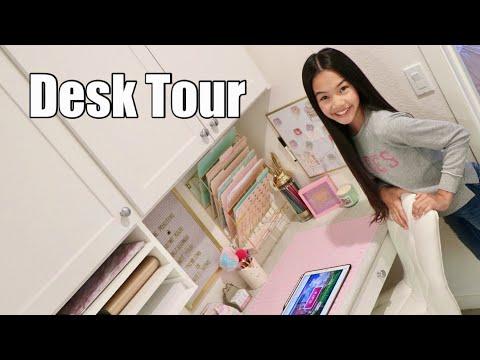 DESK TOUR!