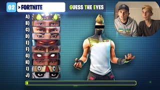 TESTING THE ULTIMATE FORTNITE QUIZ #2 WITH MY BEST FRIEND?! 🤔🔥
