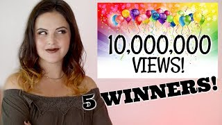 Thank YOU for 10,000,000 VIEWS! HUGE Giveaway!