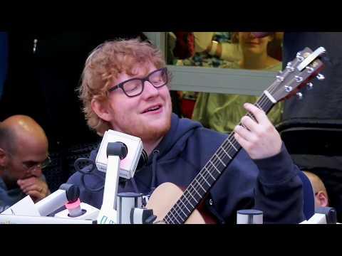 Ed Sheeran Visits Seacrest Studios at Boston Children's Hospital!