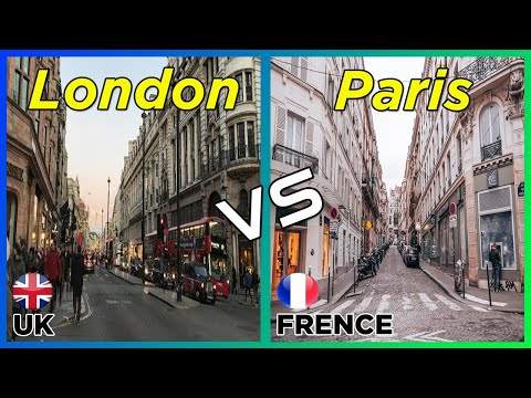 London vs Paris | UK vs France ( Two Most Visited City In Europe)