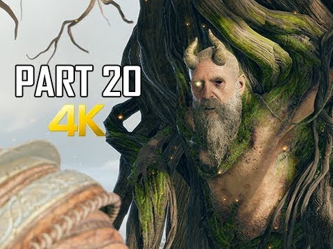 GOD OF WAR Gameplay Walkthrough Part 20 -  MIMIR (PS4 PRO 4K Commentary 2018)