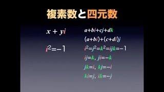 ハミルトンとベクトルの誕生1〜3教材Keynote