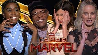 90's Movie Trivia with Captain Marvel Cast