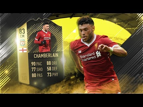FIFA 18 IF Oxlade-Chamberlain Review - 83 Inform Alex Oxlade-Chamberlain Player Review -