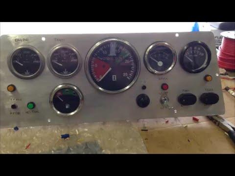 DIY Instrument Panel / Cluster Fab for JCB Backhoe Tractor